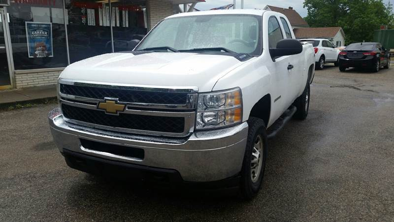 2011 Chevrolet Silverado 2500HD 4x4 Work Truck 4dr Extended Cab SB - Albion IN