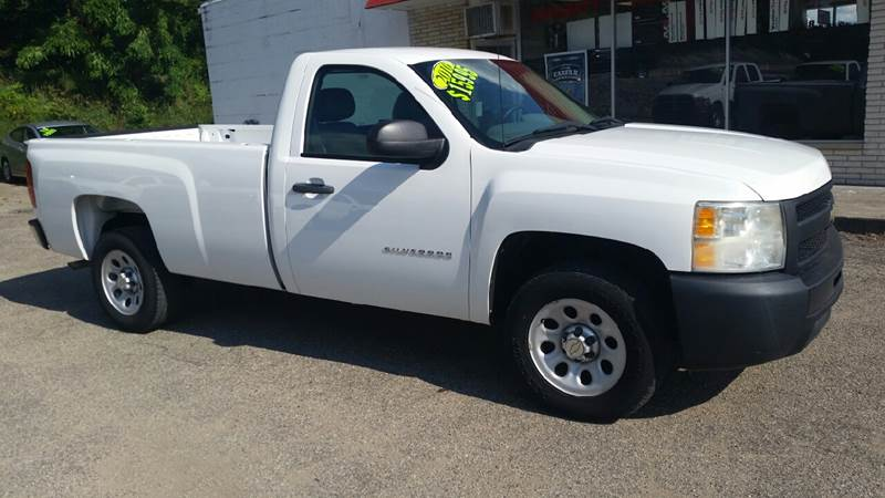 2010 Chevrolet Silverado 1500 4x2 Work Truck 2dr Regular Cab 8 ft. LB - Albion IN