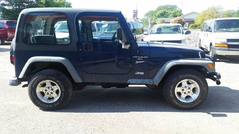 2001 Jeep Wrangler Sport 4WD 2dr SUV - Albion IN