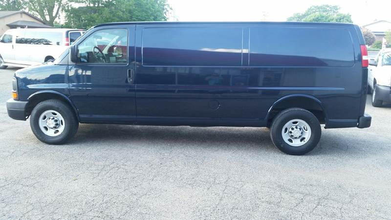 2009 Chevrolet Express Cargo 3500 3dr Extended Cargo Van - Albion IN