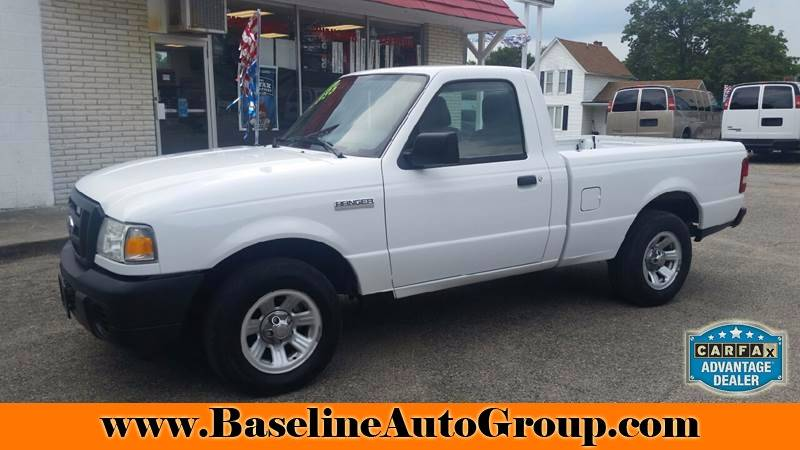 2010 Ford Ranger 4x2 XL 2dr Regular Cab LB - Albion IN