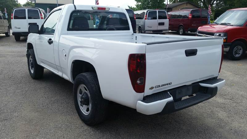 2010 Chevrolet Colorado 4x4 Work Truck 2dr Regular Cab - Albion IN