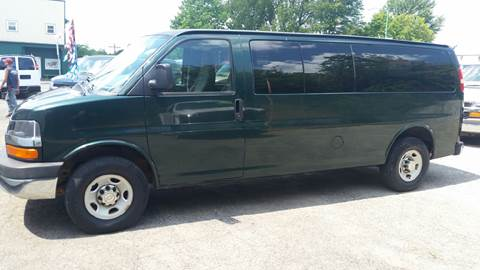 2010 Chevrolet Express Passenger for sale at Baseline Auto Group in Albion IN