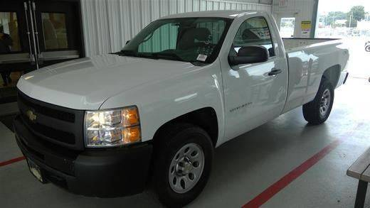 2010 Chevrolet Silverado 1500 4x4 Work Truck 2dr Regular Cab 8 ft. LB - Albion IN
