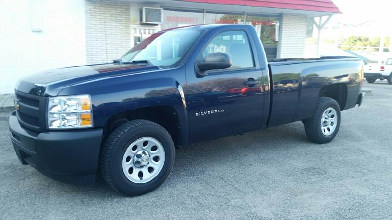 2010 Chevrolet Silverado 1500 for sale at Baseline Auto Group in Albion IN