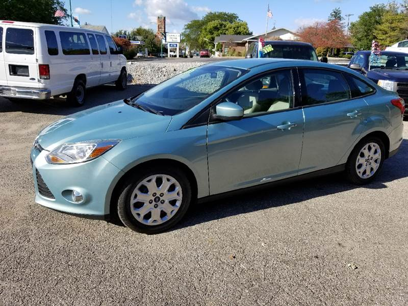 2012 Ford Focus for sale at Baseline Auto Group in Albion IN