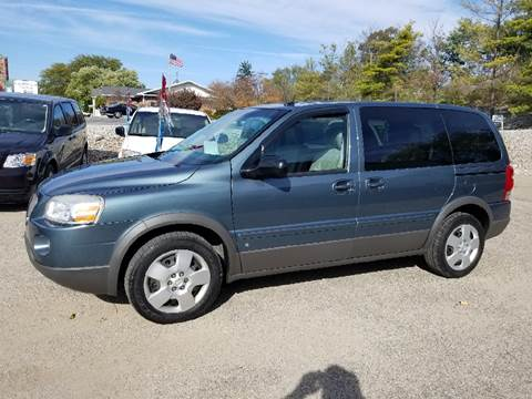 2007 Pontiac Montana for sale in Albion, IN