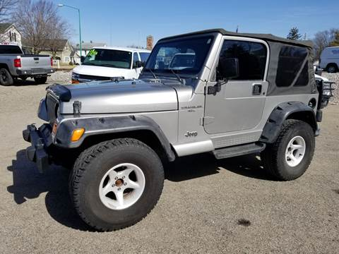 2000 Jeep Wrangler for sale in Albion, IN