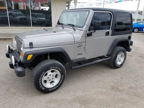 2001 Jeep Wrangler for sale in Albion, IN