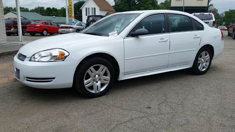 2012 Chevrolet Impala for sale at Baseline Auto Group in Albion IN