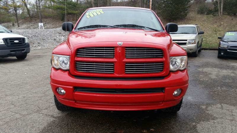 2005 Dodge Ram Pickup 1500 4dr Quad Cab SLT 4WD SB - Albion IN