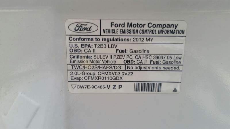 2012 Ford Focus SE 4dr Sedan - Albion IN