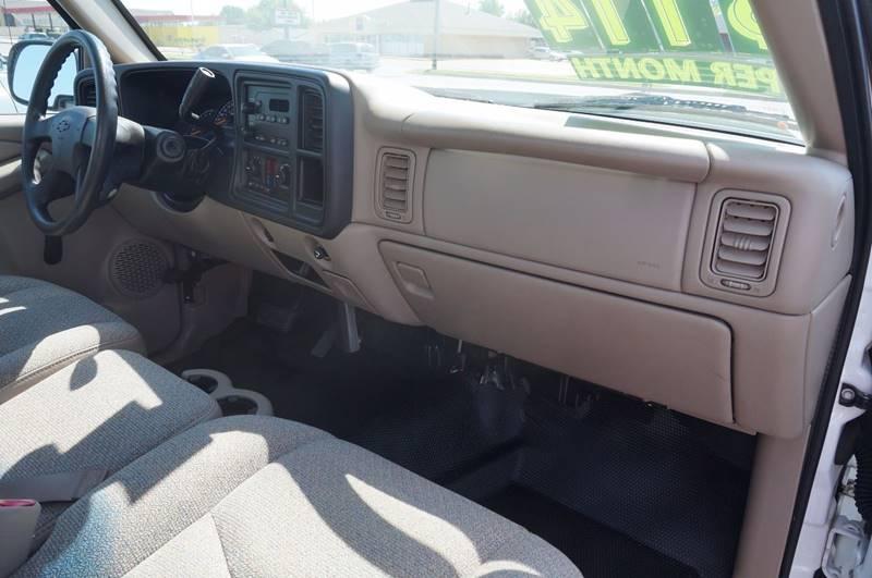 2006 Chevrolet Silverado 1500 Work Truck 2dr Regular Cab 8 ft. LB - Tulsa OK
