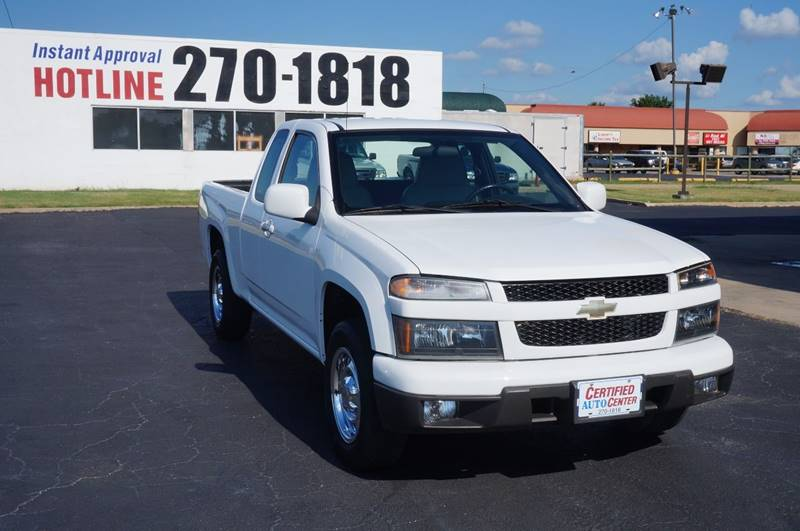 2010 Chevrolet Colorado 4x2 Work Truck 4dr Extended Cab - Tulsa OK
