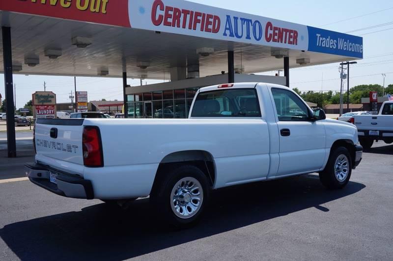 2007 Chevrolet Silverado 1500 Classic Work Truck 2dr Regular Cab 8 ft. LB - Tulsa OK