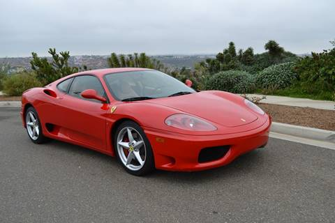 1999 Ferrari 360 Modena For Sale In San Diego, CA