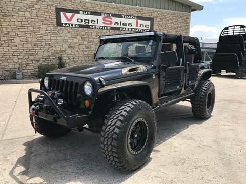 2008 Jeep Wrangler Unlimited for sale at Vogel Sales Inc in Commerce City CO