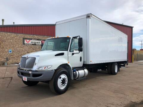 2016 International 4300 26ft Box Truck for sale at Vogel Sales Inc in Commerce City CO