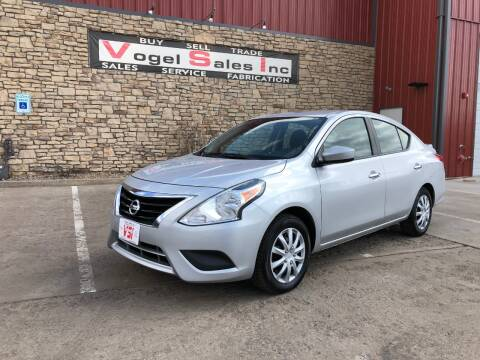 2017 Nissan Versa for sale at Vogel Sales Inc in Commerce City CO