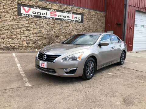 2015 Nissan Altima for sale at Vogel Sales Inc in Commerce City CO