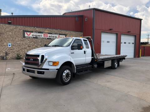 2013 Ford F-650 Super Duty Rollback for sale at Vogel Sales Inc in Commerce City CO