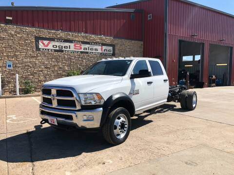 2014 RAM 5500 HEAVY DUTY for sale at Vogel Sales Inc in Commerce City CO