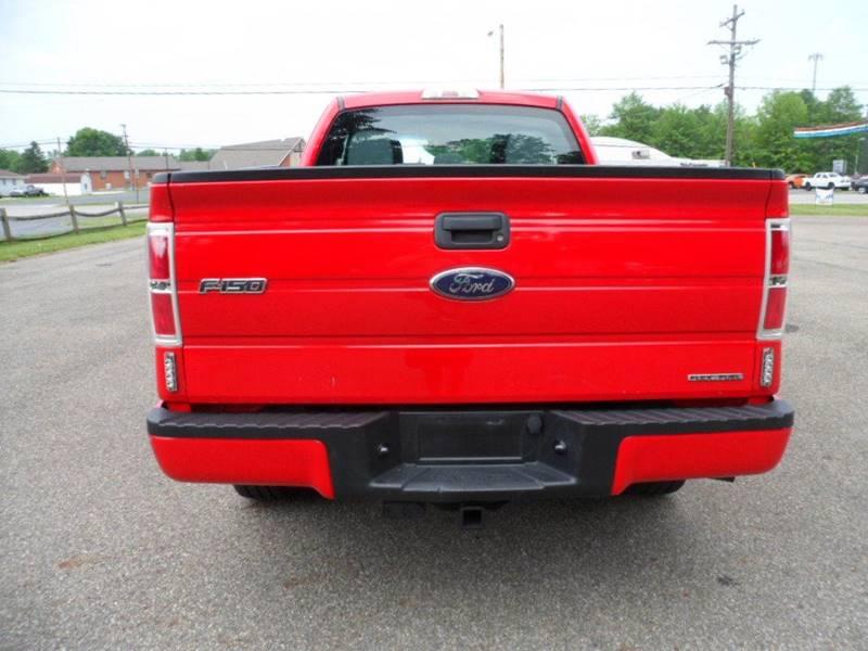 2013 Ford F-150 4x4 STX 4dr SuperCab Styleside 6.5 ft. SB - Heath OH