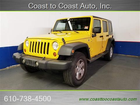 2009 Jeep Wrangler Unlimited for sale in West Chester, PA