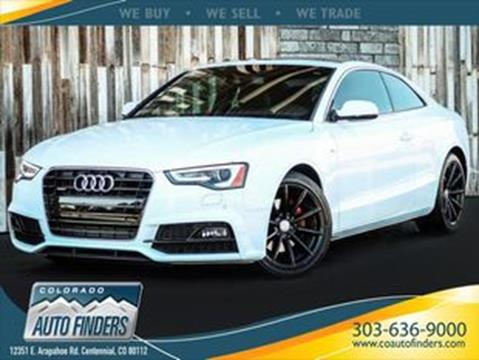 2017 Audi A5 For Sale In Centennial Co