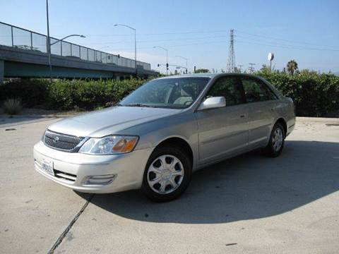 2000 Toyota Avalon for sale at Auto Hub, Inc. in Anaheim CA