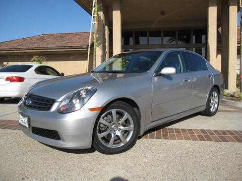 2005 Infiniti G35 for sale at Auto Hub, Inc. in Anaheim CA