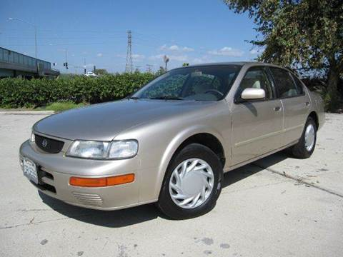 1996 Nissan Maxima for sale at Auto Hub, Inc. in Anaheim CA