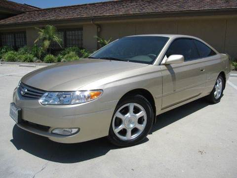 2002 Toyota Camry Solara for sale at Auto Hub, Inc. in Anaheim CA