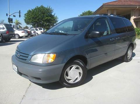 2002 Toyota Sienna for sale at Auto Hub, Inc. in Anaheim CA
