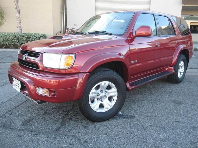 2002 Toyota 4Runner SR5 2WD 4dr SUV   Anaheim CA