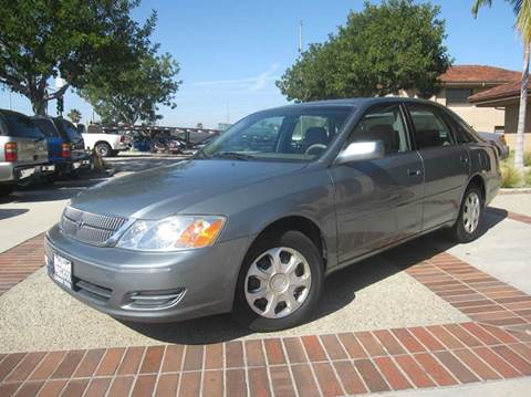 2002 Toyota Avalon for sale at Auto Hub, Inc. in Anaheim CA