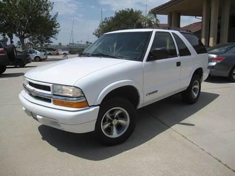2002 Chevrolet Blazer for sale at Auto Hub, Inc. in Anaheim CA
