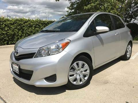 2012 Toyota Yaris for sale at Auto Hub, Inc. in Anaheim CA