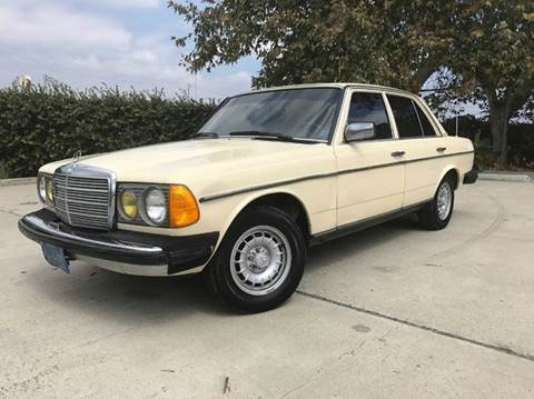 1983 Mercedes-Benz 300-Class for sale at Auto Hub, Inc. in Anaheim CA
