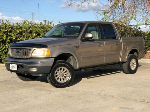 2001 Ford F-150 for sale at Auto Hub, Inc. in Anaheim CA