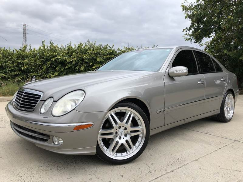 2003 Mercedes-Benz E-Class for sale at Auto Hub, Inc. in Anaheim CA