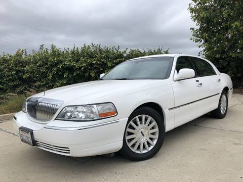 2003 Lincoln Town Car for sale at Auto Hub, Inc. in Anaheim CA