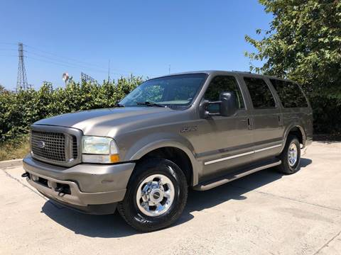 2003 Ford Excursion for sale at Auto Hub, Inc. in Anaheim CA