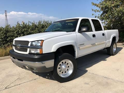 2003 Chevrolet Silverado 2500HD for sale at Auto Hub, Inc. in Anaheim CA