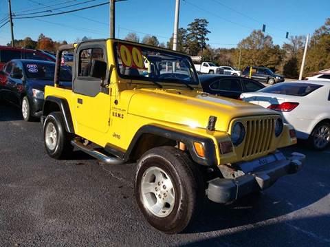 2000 Jeep Wrangler for sale in Grayson, GA
