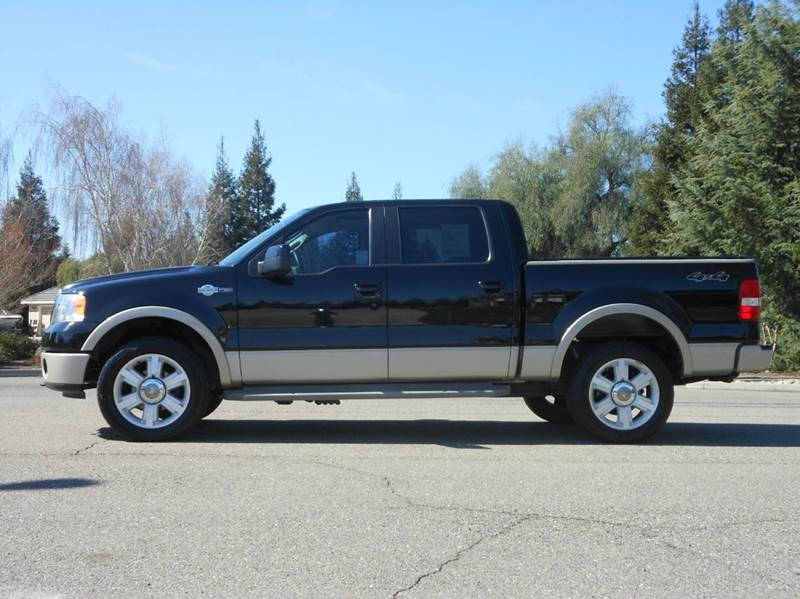 2008 ford f 150 4x4 king ranch 4dr supercrew styleside 6 5 ft sb in riverbank ca california. Black Bedroom Furniture Sets. Home Design Ideas