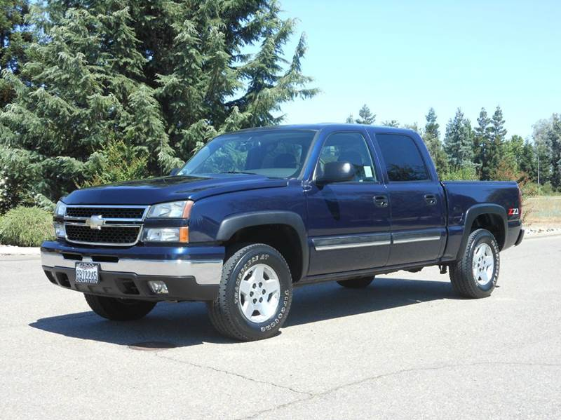 2006 chevrolet silverado 1500 lt1 4dr crew cab 4wd 5 8 ft sb in riverbank ca california auto. Black Bedroom Furniture Sets. Home Design Ideas