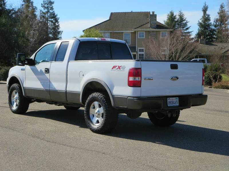2005 ford f 150 4dr supercab fx4 4wd styleside 6 5 ft sb in riverbank ca california auto traders. Black Bedroom Furniture Sets. Home Design Ideas