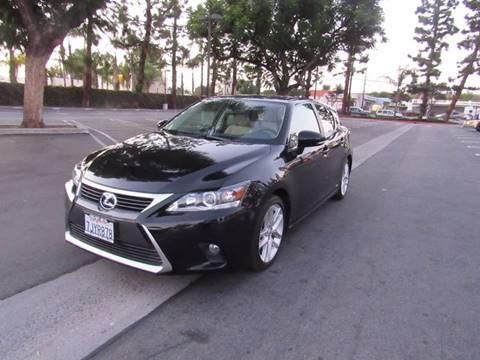 2015 Lexus CT 200h for sale in Bellflower, CA