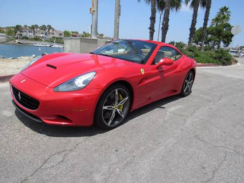2013 Ferrari California for sale in Bellflower, CA